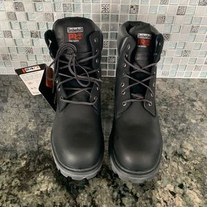 "Timberland Pro Series 6"" Steel Toe Work Boots"
